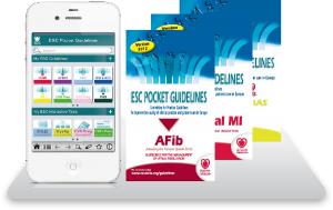 ESC Pocket guidelines sur votre Iphone